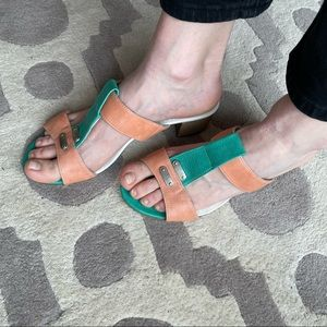 Summer sandals. Made in Italy.